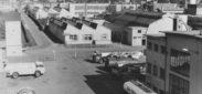 Schlieren, Foto: Arnold Binder, 7x10 cm, PE, Archiv: Privatarchiv Arnold Binder, Beschriftung: Aluminium-Schweisswerk AG, vom hšchsten Punkt aus gesehen, GoldschlŠgi,1964