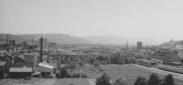 Schlieren, Foto: anonym, 7.5x11 cm, Baryt, Archiv: Vereinigung fŸr Heimatkunde Schlieren, HŠngeregistratur 1. OG, Wirtschaft, FŠrberei, Anmerkung: vermutlich 1945